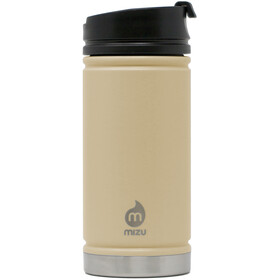 MIZU V5 Insulated Bottle 450ml with Coffee Lid, sand
